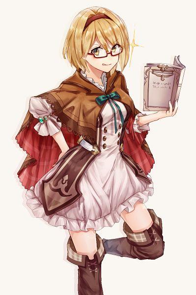 Tags: Anime, Yuya (Night Lily), Granblue Fantasy, Gita (Granblue Fantasy), PNG Conversion, Mobile Wallpaper, Djeeta (granblue Fantasy)