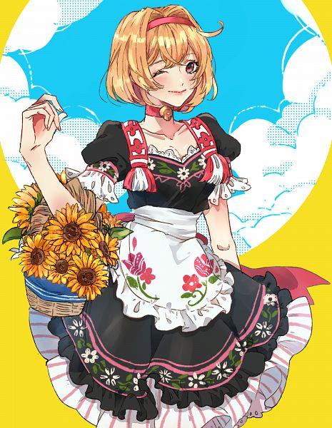 Tags: Anime, Pixiv Id 43795281, Granblue Fantasy, Gita (Granblue Fantasy), Fanart From Pixiv, Pixiv, Fanart, Djeeta (granblue Fantasy)