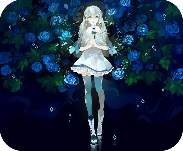 Tags: Anime, 253421, Glaceon, Clear Eyes, Fanart From Pixiv