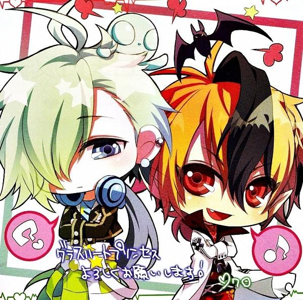 Tags: Anime, IDEA FACTORY, Glass Heart Princess, Hoshino Kanata, Asahina Tenma, Bata Blanca
