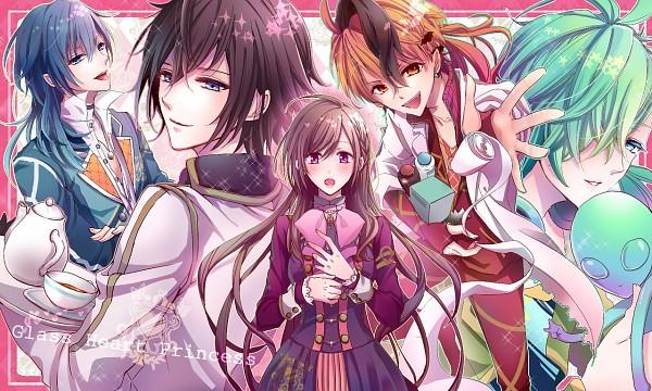 Tags: Anime, IDEA FACTORY, Glass Heart Princess, Hoshino Kanata, Asahina Tenma, Karasuma Yukito, Masaki Shinnosuke, Himeno Kyouko, Fanart From Pixiv, Pixiv, Fanart