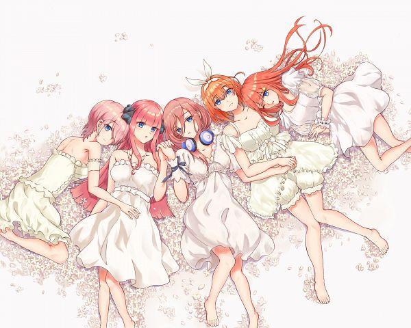 Tags: Anime, Pixiv Id 20503014, Go-Toubun no Hanayome, Nakano Nino, Nakano Yotsuba, Nakano Itsuki, Nakano Ichika, Nakano Miku, Quintuplets, The Quintessential Quintuplets