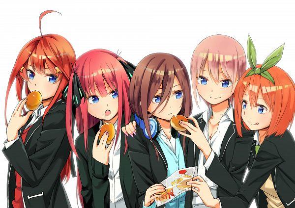 Tags: Anime, Pixiv Id 1305466, Go-Toubun no Hanayome, Nakano Yotsuba, Nakano Itsuki, Nakano Ichika, Nakano Miku, Nakano Nino, The Quintessential Quintuplets