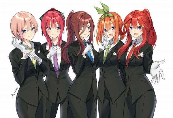 Tags: Anime, KU-INI, Go-Toubun no Hanayome, Nakano Yotsuba, Nakano Itsuki, Nakano Ichika, Nakano Miku, Nakano Nino, The Quintessential Quintuplets