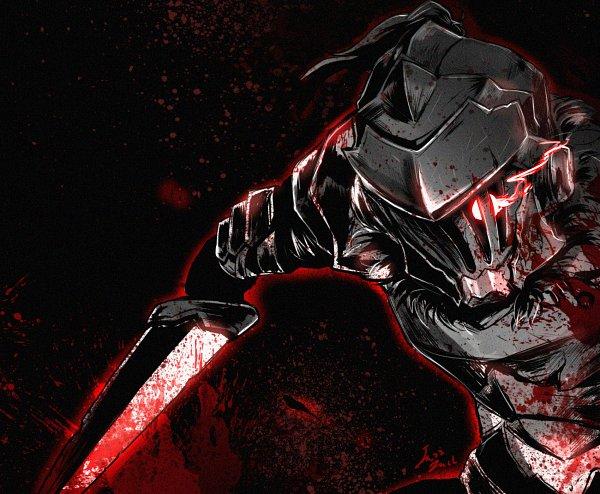 Tags: Anime, Jazzjack-kht, Goblin Slayer, Goblin Slayer (Character), Blood On Weapons, Fanart From DeviantART, deviantART, Fanart