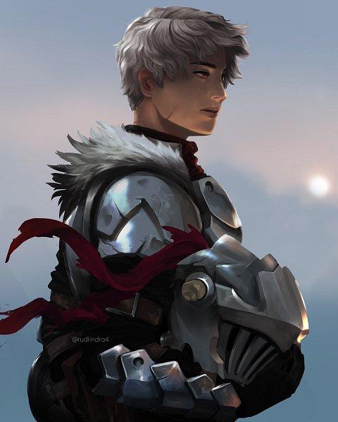 Tags: Anime, Rudi Indra A, Goblin Slayer, Goblin Slayer (Character), Helmet Off, ArtStation