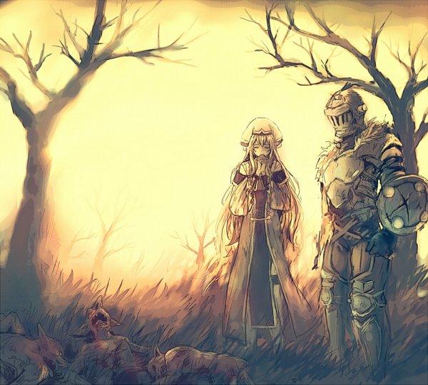 Tags: Anime, Pixiv Id 35119418, Goblin Slayer, Goblin Slayer (Character), Priestess (Goblin Slayer), Goblins, Fanart From Pixiv, Pixiv, Fanart