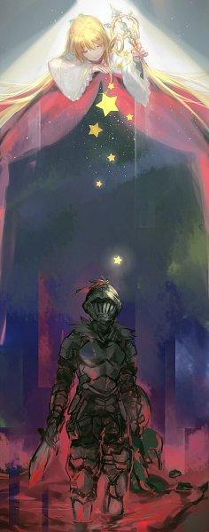 Tags: Anime, Pixiv Id 2442031, Goblin Slayer, Goblin Slayer (Character), Priestess (Goblin Slayer), Fanart From Pixiv, Pixiv, Fanart