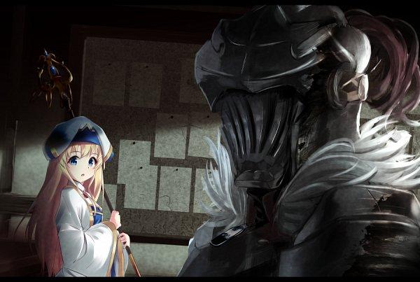Tags: Anime, Pixiv Id 20804887, Goblin Slayer, Goblin Slayer (Character), Priestess (Goblin Slayer), Fanart From Pixiv, Pixiv, Fanart