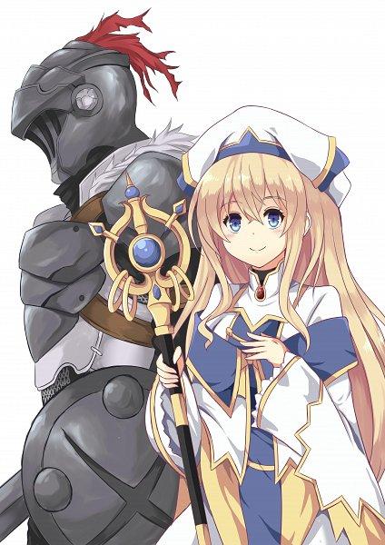Tags: Anime, Pixiv Id 11055207, Goblin Slayer, Goblin Slayer (Character), Priestess (Goblin Slayer)