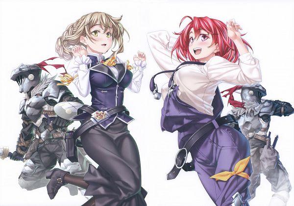 Tags: Anime, Kannatsuki Noboru, Goblin Slayer, Gob-Sla, Cow Girl (Goblin Slayer), Guild Girl, Goblin Slayer (Character), Official Art, Scan, Comic Market 94, Comic Market