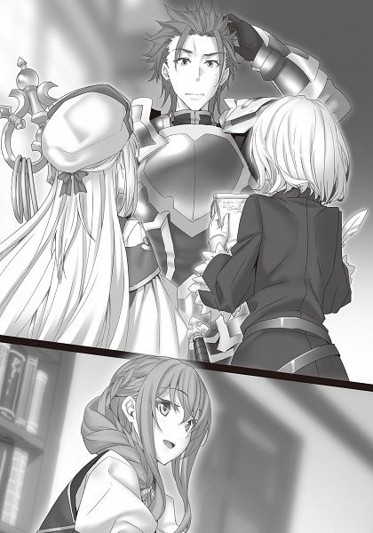 Tags: Anime, Kannatsuki Noboru, Goblin Slayer, Noble Fencer, Spearman, Guild Girl, Priestess (Goblin Slayer), Novel Illustration, Official Art