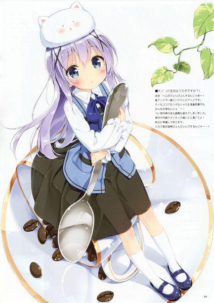 Tags: Anime, Peko, Gochuumon wa Usagi Desu ka, LUMINOCITY 09, Tippy (Gochuumon wa Usagi Desu ka?), Kafuu Chino, Comic Market 86, Scan, Mobile Wallpaper, Is The Order A Rabbit?