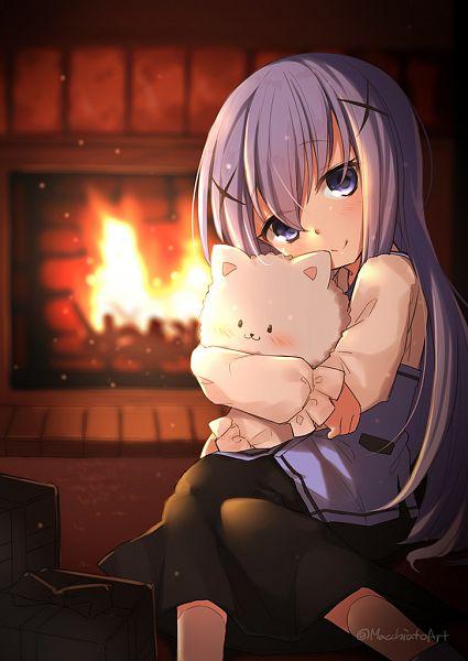 Tags: Anime, Pixiv Id 1069205, Gochuumon wa Usagi Desu ka, Kafuu Chino, Tippy (Gochuumon wa Usagi Desu ka?), Is The Order A Rabbit?