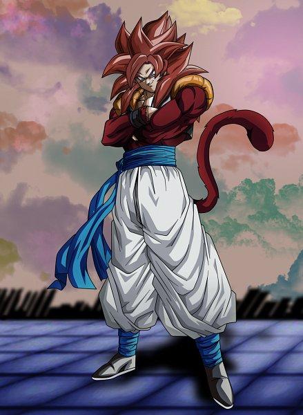 Tags: Anime, Koku78, DRAGON BALL, Dragon Ball Xenoverse, DRAGON BALL GT, Son Goku (DRAGON BALL), Vegeta, Gogeta, Character Fusion, deviantART, Super Saiyan, Super Saiyan 4