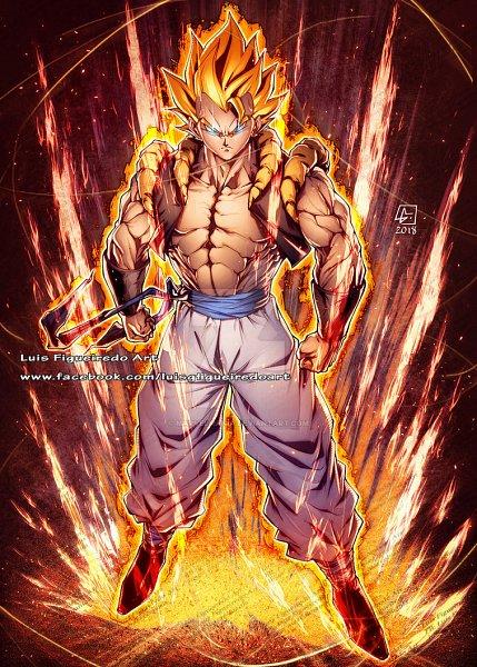 Tags: Anime, Luís Figueiredo, DRAGON BALL, DRAGON BALL GT, Son Goku (DRAGON BALL), Vegeta, Gogeta, Character Fusion, deviantART, Super Saiyan