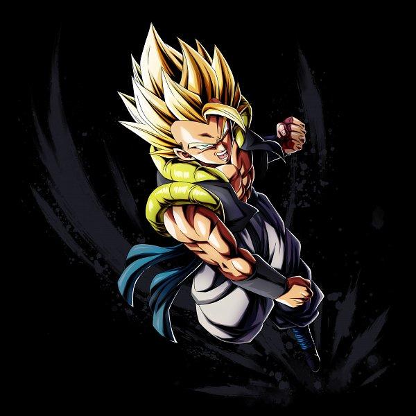 Tags: Anime, DRAGON BALL, DRAGON BALL GT, Son Goku (DRAGON BALL), Vegeta, Gogeta, Character Fusion, Super Saiyan