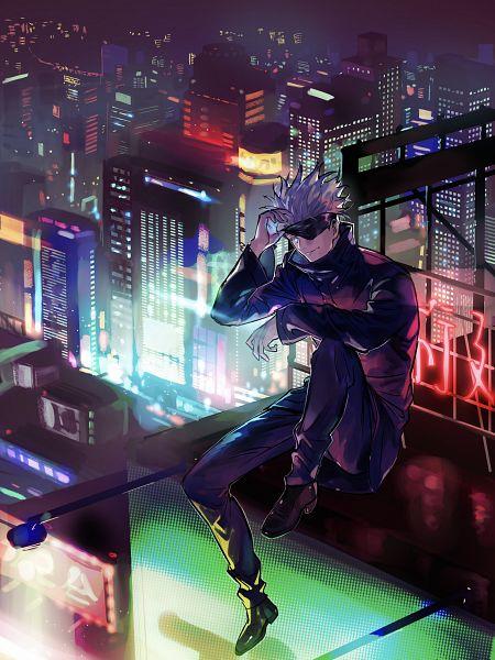 Tags: Anime, Pixiv Id 338317, Jujutsu Kaisen, Gojou Satoru, Fanart From Pixiv, Pixiv, Fanart