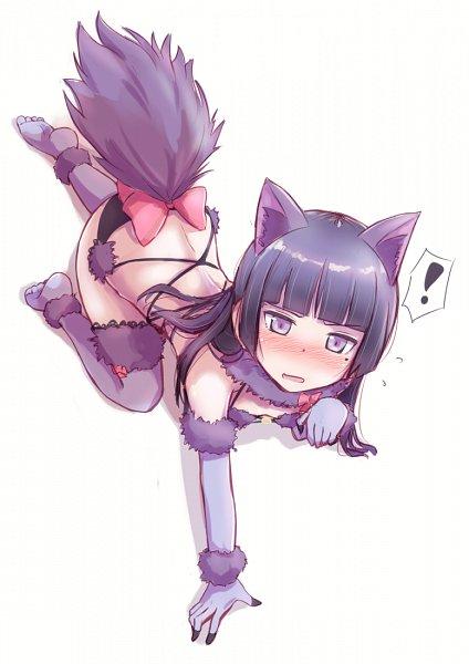 Tags: Anime, Herunin, Ore no Imouto ga Konna ni Kawaii Wake ga Nai, Gokou Ruri, Dangerous Beast (Cosplay), Shielder (Fate/Grand Order) (Cosplay)