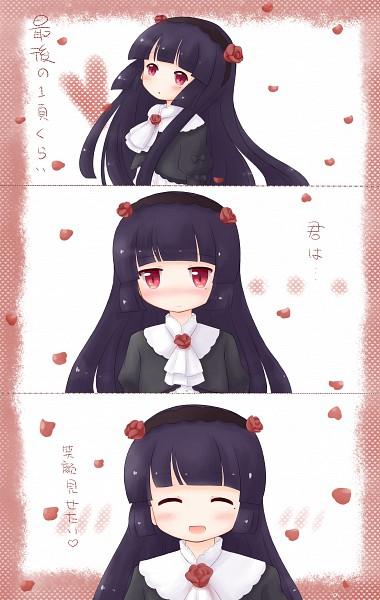 Tags: Anime, Qiuqiu, Ore no Imouto ga Konna ni Kawaii Wake ga Nai, Gokou Ruri, Fanart