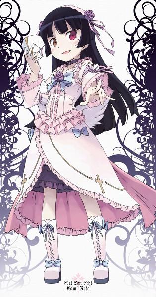 Tags: Anime, Kanzaki Hiro, Ore no Imouto ga Konna ni Kawaii Wake ga Nai, Gokou Ruri, Sweet Lolita, Novel Illustration, Official Art, Scan