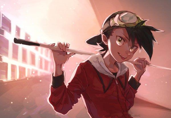 Tags: Anime, Chukino, Pokémon SPECIAL, Pokémon, Gold (Pokémon SPECIAL), Billiards, Fanart From Pixiv, Fanart, Pixiv