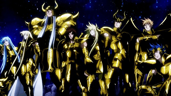 Gold Saints -the Lost Canvas - Saint Seiya Lost Canvas