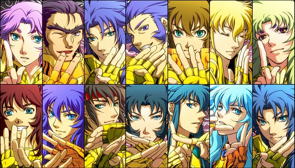 Gold Saints - Saint Seiya