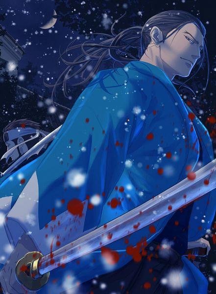 Tags: Anime, Pixiv Id 16523866, Golden Kamuy, Nagakura Shinpachi (Golden Kamuy), Hijikata Toshizou (Golden Kamuy), Pixiv, Fanart, Fanart From Pixiv