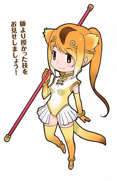 Golden Snub-nosed Monkey (Kemono Friends) - Kemono Friends