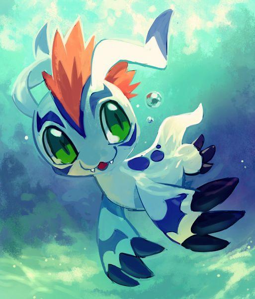 Tags: Anime, Extyrannomon, Digimon Adventure, Gomamon, Fanart, Fanart From DeviantART, deviantART