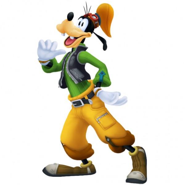 Tags: Anime, Nomura Tetsuya, SQUARE ENIX, Kingdom Hearts II, Goofy, Official Art, Disney