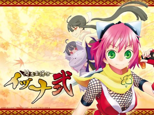 Tags: Anime, Gouma Reifu Den Izuna, Shizune (izuna), Shino (izuna), Izuna, Izuna: Legend Of The Unemployed Ninja