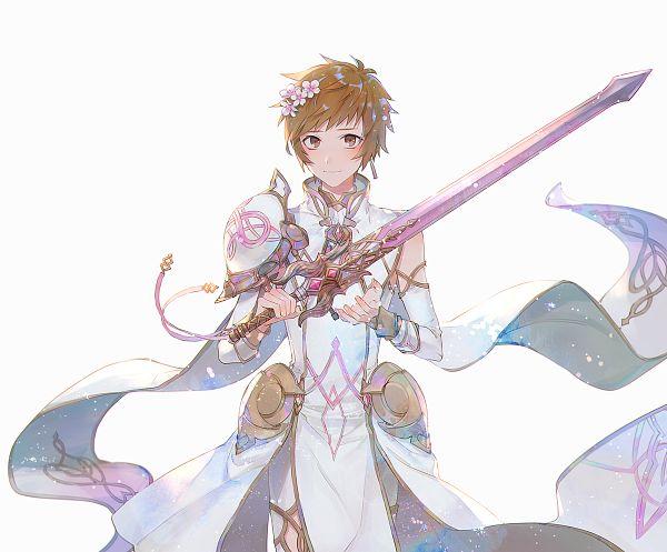 Tags: Anime, Rowya, Granblue Fantasy, Gran (Granblue Fantasy), Pixiv, Fanart, Fanart From Pixiv