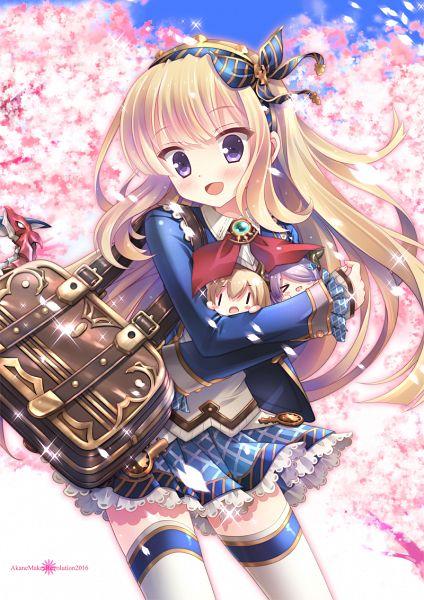 Tags: Anime, Ikeaka, Ikegami Akane, Granblue Fantasy, Narumeia (Granblue Fantasy), Cagliostro (Granblue Fantasy), Mobile Wallpaper, Character Request