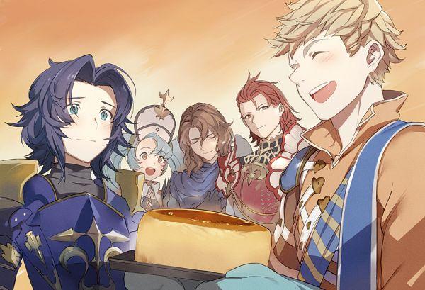 Tags: Anime, Mikurou, Granblue Fantasy, Percival (Granblue Fantasy), Lancelot (Granblue Fantasy), Sophia (Granblue Fantasy), Siegfried (Granblue Fantasy), Vane (Granblue Fantasy), PNG Conversion
