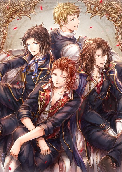 Tags: Anime, Himeichiko, Granblue Fantasy, Percival (Granblue Fantasy), Lancelot (Granblue Fantasy), Siegfried (Granblue Fantasy), Vane (Granblue Fantasy), Pixiv, Mobile Wallpaper, PNG Conversion