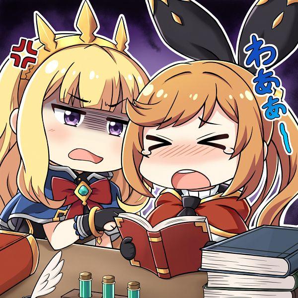 Tags: Anime, Pixiv Id 1318911, Granblue Fantasy, Cagliostro (Granblue Fantasy), Clarisse (Granblue Fantasy)
