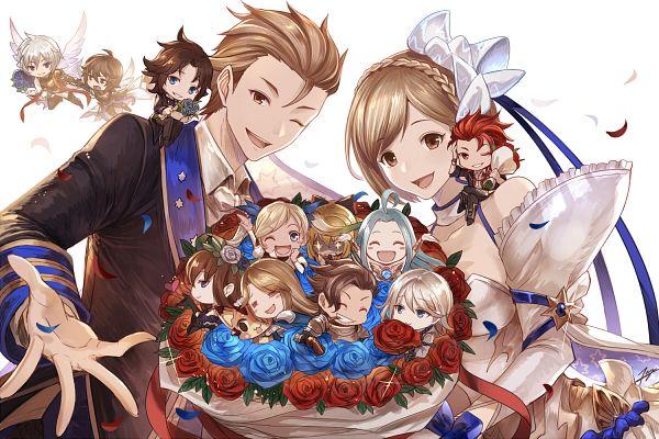 Tags: Anime, Pixiv Id 1241621, Granblue Fantasy, Io Euclase, Catalina (Granblue Fantasy), Rosetta (Granblue Fantasy), Gran (Granblue Fantasy), Vira (Granblue Fantasy), Rackam (Granblue Fantasy), Lyria (Granblue Fantasy), Percival (Granblue Fantasy), Gita (Granblue Fantasy), Lancelot (Granblue Fantasy)