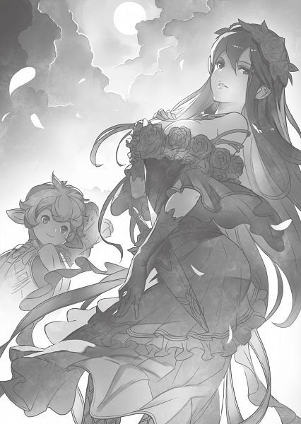 Tags: Anime, Cygames, Granblue Fantasy, Sierokarte (Granblue Fantasy), Rosetta (Granblue Fantasy), Novel Illustration, Official Art