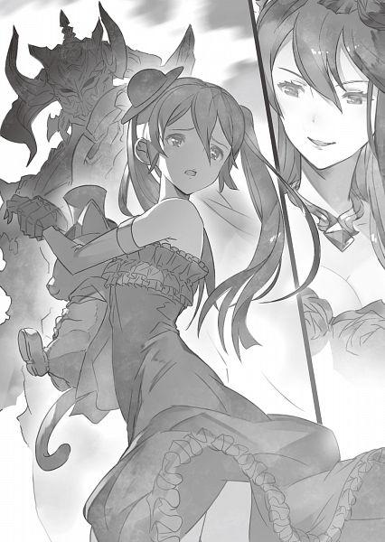Tags: Anime, Cygames, Granblue Fantasy, Apollonia (Granblue Fantasy), Orchis (Granblue Fantasy), Rosetta (Granblue Fantasy), Novel Illustration, Official Art