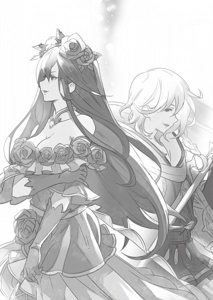 Tags: Anime, Cygames, Granblue Fantasy, Rosetta (Granblue Fantasy), Noah (Granblue Fantasy), Novel Illustration, Official Art