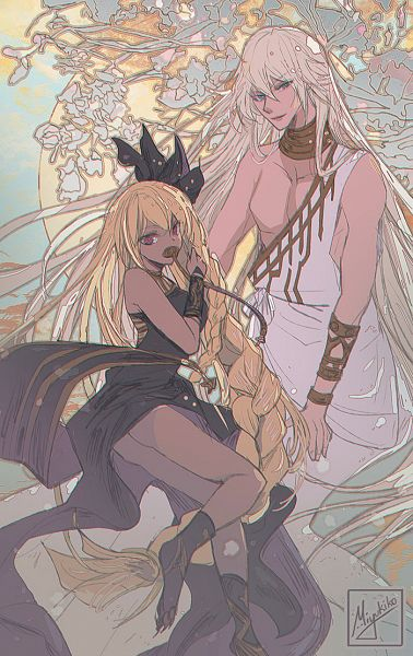 Tags: Anime, Miyukiko, Granblue Fantasy, Helel ben Shalem, Lucio (Granblue Fantasy), Helel ben Sahar, Pixiv, Fanart, Fanart From Pixiv