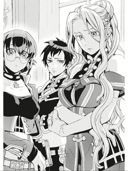 Tags: Anime, Miyuu, Grancrest Senki, Novel Illustration, Official Art, Character Request, Record Of Grancrest War