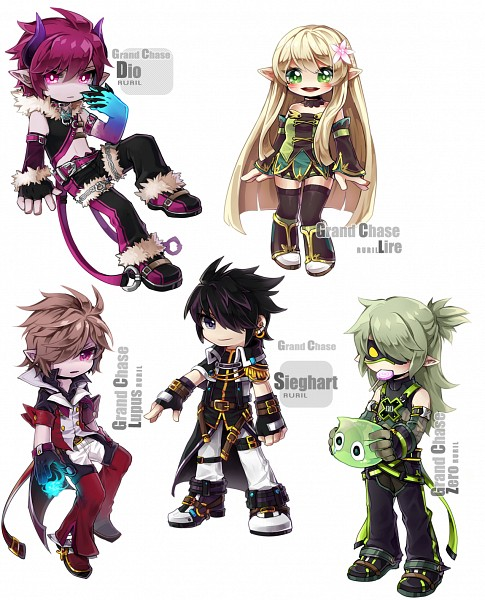 Tags: Anime, Doryeon1 (Artist), Grand Chase, Aerknard Sieghart, Rufus Wild, Dio von Burning Canyon, Lire Eryuell, Ercnard Sieghart, Zero Zephyrum, Slime, deviantART, Fanart, Fanart From DeviantART