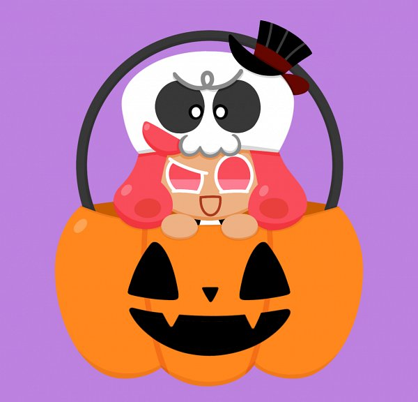 Tags: Anime, Pixiv Id 30503181, Cookie Run: OvenBreak, Cookie Run, Grapefruit Cookie, Grapefruit Cookie (Scary Skull), Tumblr, Fanart, Fanart From Tumblr