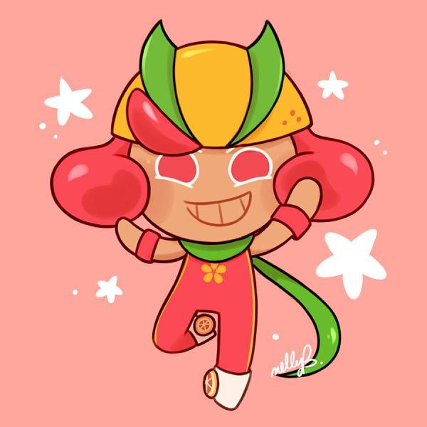 Tags: Anime, Nellcher, Cookie Run: OvenBreak, Cookie Run, Grapefruit Cookie, Roller Skates, Fanart From DeviantART, deviantART, Fanart