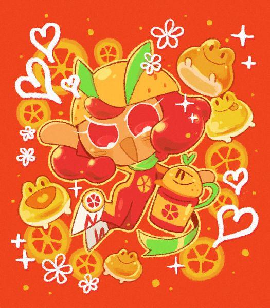 Tags: Anime, Misaki-omoomochiii, Cookie Run: OvenBreak, Cookie Run, Grapefruit Cookie, Grapefruit Juice Tumbler, Roller Skates, Tumblr, Fanart From Tumblr, Fanart
