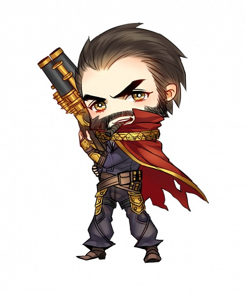 Tags: Anime, Pixiv Id 2295715, League of Legends, Graves (League of Legends), Cigar, Shotgun, Fanart, Pixiv, Fanart From Pixiv, PNG Conversion