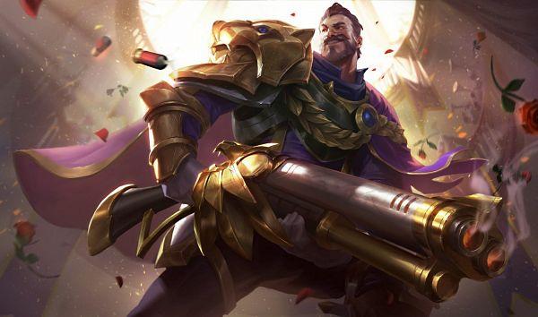 Tags: Anime, Xu Cheng, Riot Games, League of Legends, Graves (League of Legends), Official Art